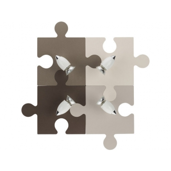 6382  PUZZLE IV BROWN