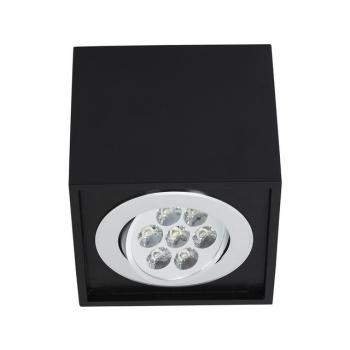 6427  BOX LED BLACK 7W
