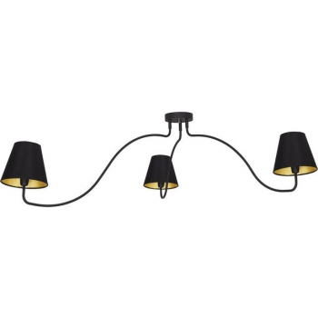 6558  SWIVEL BLACK III plafon