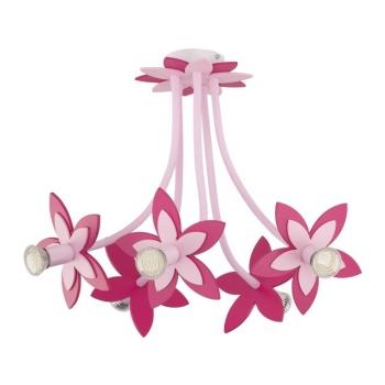 6896  FLOWERS PINK V