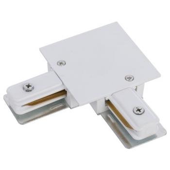 8970  PROFILE RECESSED L-CONNECTOR WHITE