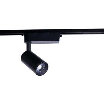 9001  IRIS LED BLACK 12W, 3000K