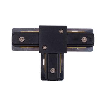 9186  PROFILE T-CONNECTOR BLACK