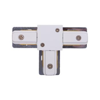 9187  PROFILE T-CONNECTOR WHITE
