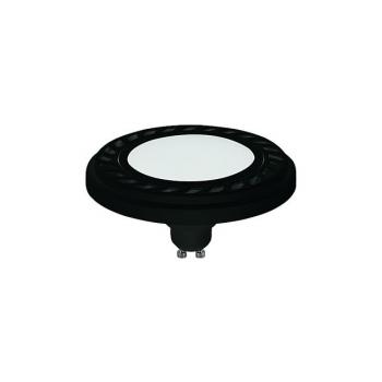 9342  REFLECTOR LED 9W, 3000K, GU10, ES111, ANGLE 120, DIFFUSER, BLACK