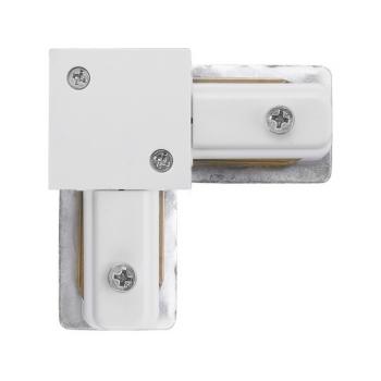 9456  PROFILE L-CONNECTOR WHITE