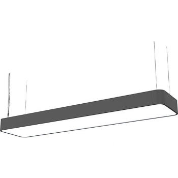 9542  SOFT LED GRAPHITE 90X20 zwis