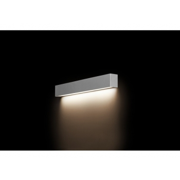 9613  STRAIGHT WALL LED SILVER S