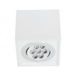 6422  BOX LED WHITE 7W