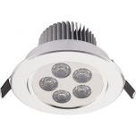 6822  DOWNLIGHT LED V SILVER
