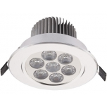 6823  DOWNLIGHT LED VII SILVER