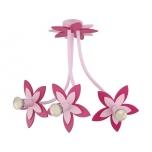 6894  FLOWERS PINK III zwis