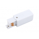 8232  CTLS PWR END CAP LEFT WHITE (PE-L)