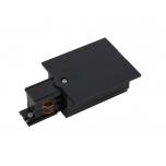 8235  CTLS REC PWR END CAP LEFT BLACK (PE-L)