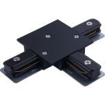 8835  PROFILE RECESSED T-CONNECTOR BLACK