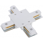 8836  PROFILE RECESSED X-CONNECTOR WHITE