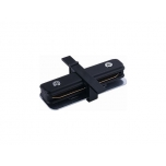 8968  PROFILE RECESSED STRAIGHT CONNECTOR BLACK