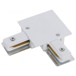 8970  PROFILE RECESSED L-CONNECTOR WHITE