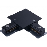 8971  PROFILE RECESSED L-CONNECTOR BLACK