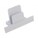 8974  PROFILE RECESSED DEAD END CAP WHITE