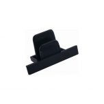 8975  PROFILE RECESSED DEAD END CAP BLACK