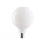 9177  BULB GLASS BALL LED 8W, 3000K, E27, ANGLE 360