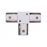 9187  PROFILE T-CONNECTOR WHITE