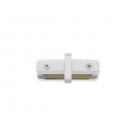 9454  PROFILE STRAIGHT CONNECTOR WHITE
