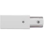 9462  PROFILE POWER END CAP WHITE