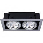 9572  DOWNLIGHT SILVER II ES111